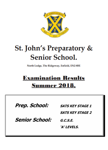 Examination Results Summer 2018
