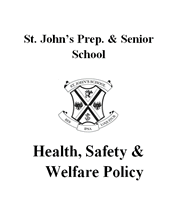 Health, Safety & Welfare Policy