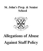 Allegations of Abuse